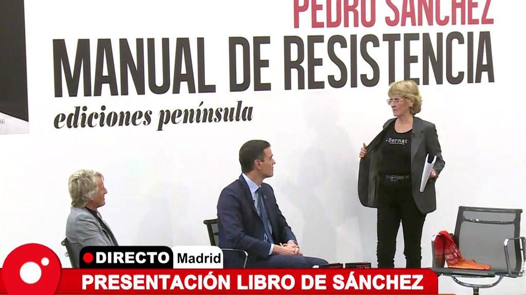 Mercedes Milá explica qué hace en la presentación del libro de Pedro Sánchez