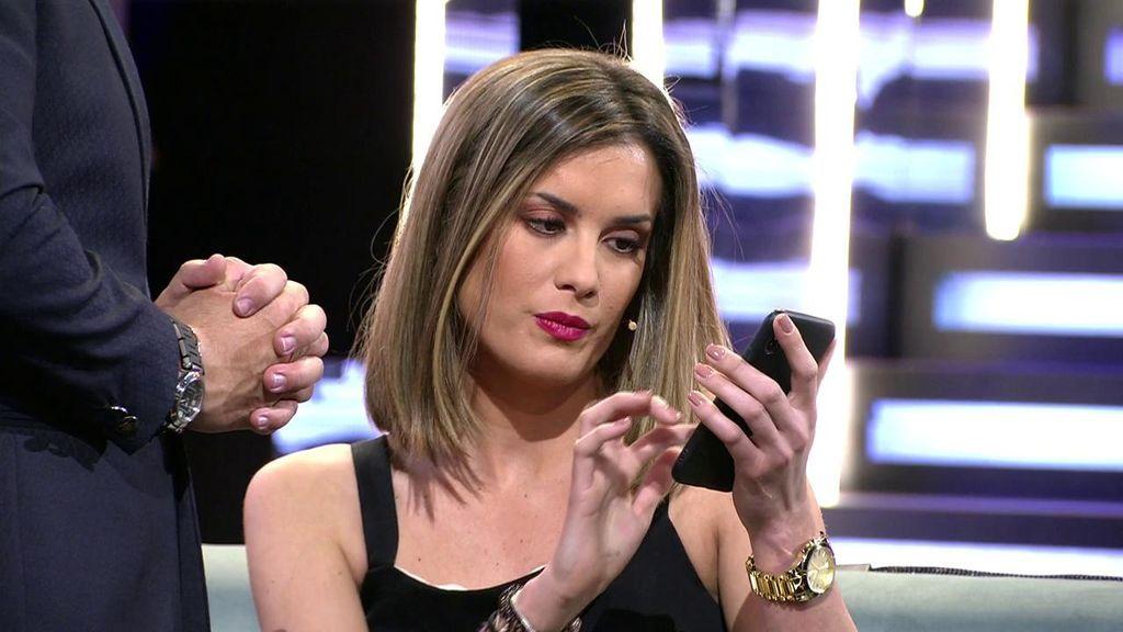 Candela desvela los mensajes en los que Antonio la convence para entrar a 'GH DÚO'