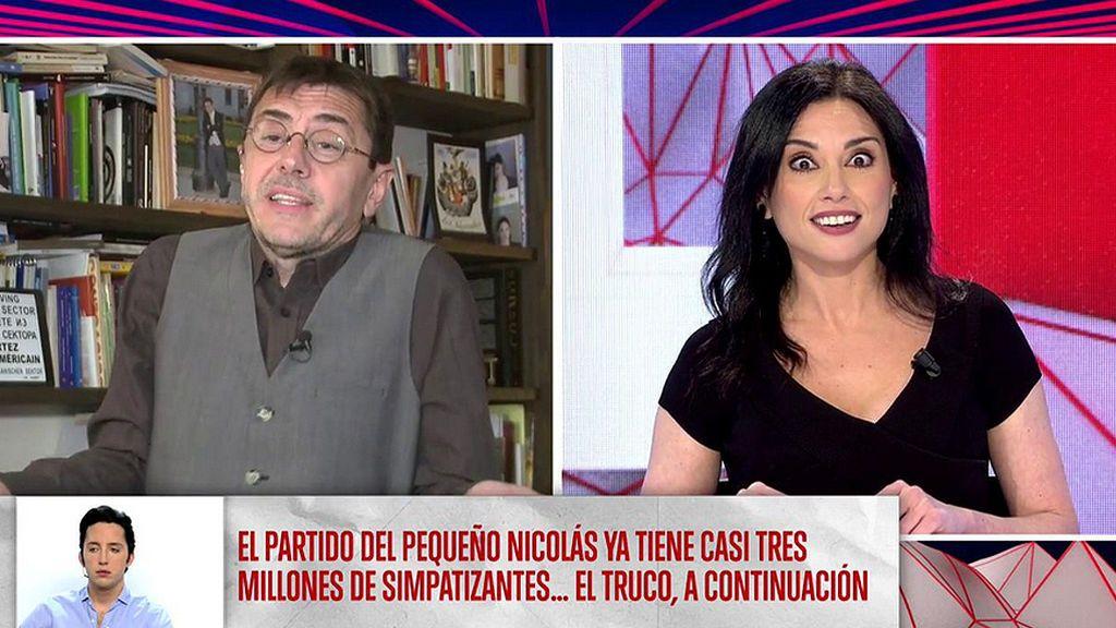 """El monumental enfado de Juan Carlos Monedero contra 'Todo es mentira': """"Me voy, esto es una basura Marta"""""""