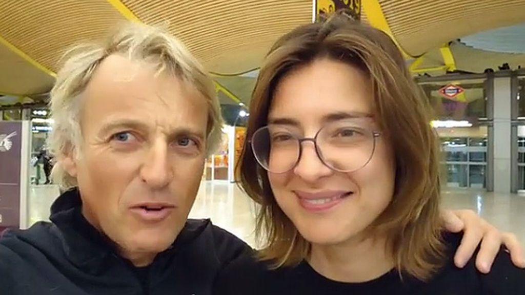 """Jesús Calleja y Sandra Barneda, rumbo a una de las aventuras """"más extremas"""" de 'Planeta Calleja'"""