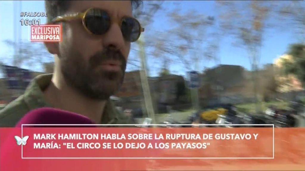 """""""El circo se lo dejo a los payasos"""": Mark Hamilton rompe su silencio tras su ruptura con Lapiedra y ella contesta"""