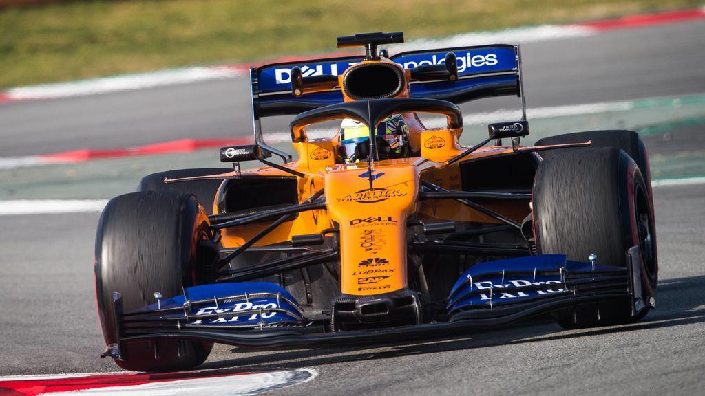 El box de McLaren se incendia en Montmeló y tres miembros de equipo reciben asistencia médica