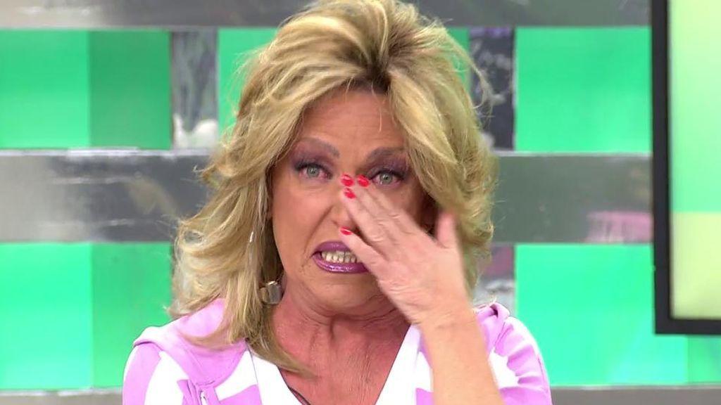 Lydia Lozano llora la muerte de Adriana Rothlander