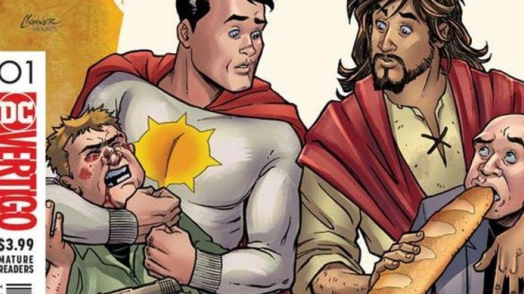 El cómic sobre el regreso de Jesús a la Tierra, vetado