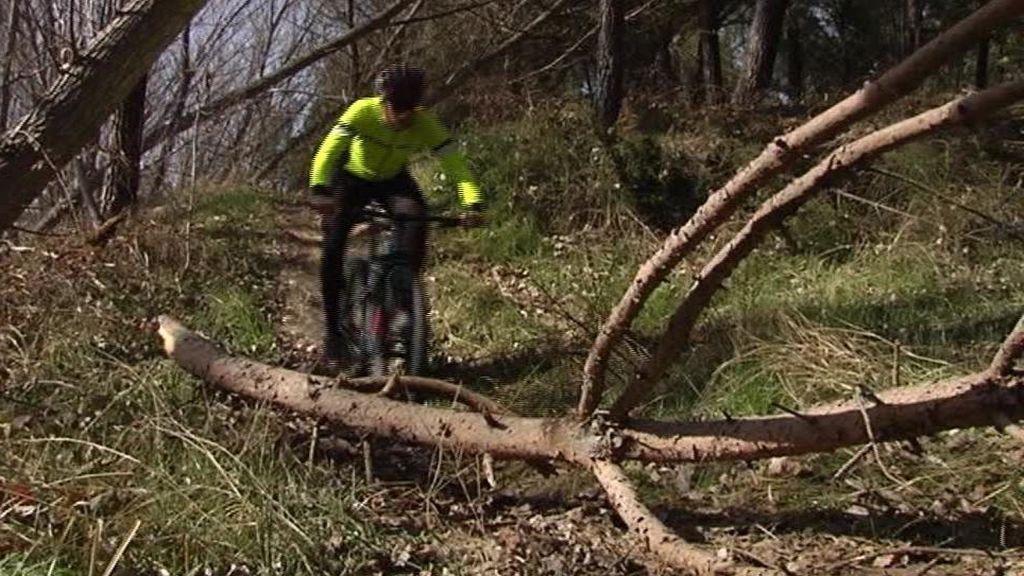 Trampas para ciclistas en los montes de Segovia