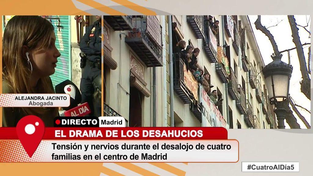 """La abogada de las familias desahuciadas en Madrid: """"No me han dejado negociar con la comisión judicial"""""""