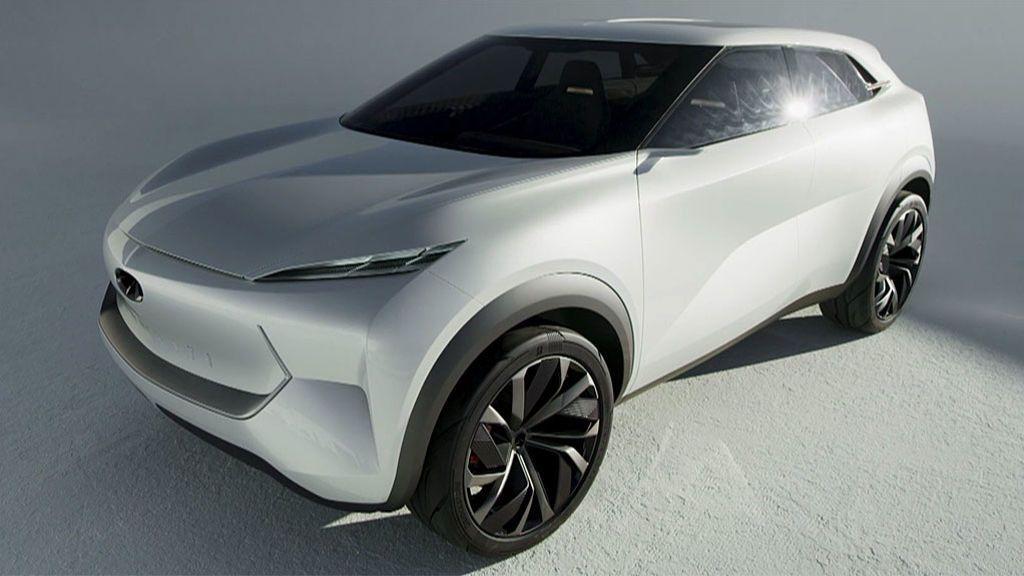 El QX Inspiration, el futuro ya está aquí: eléctrico, sin pilar central y ni pedales ni volante en modo autónomo