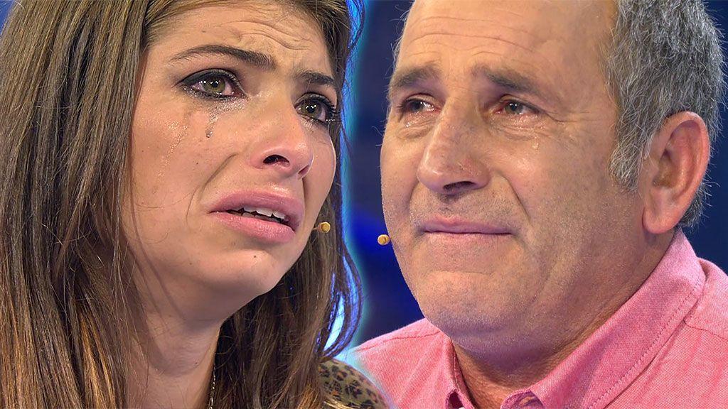 Padre e hija se reencuentran y ella recibe una dura noticia