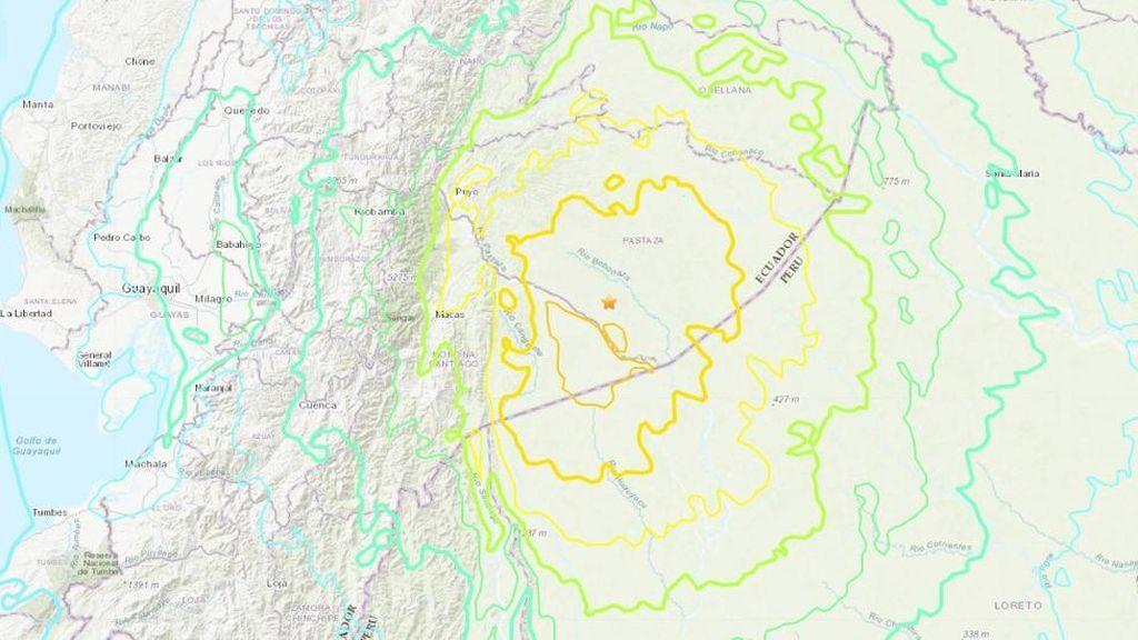 Cuatro terremotos dejan nueve heridos de una veintena de edificios afectados en Ecuador