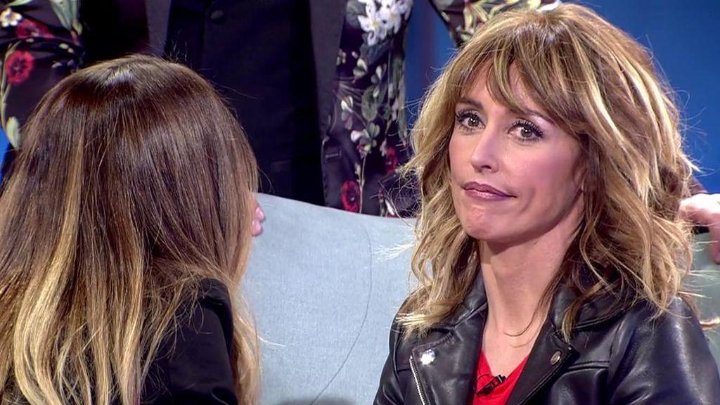 """Emma García contesta, nerviosa, a la pregunta de Tamara Gorro: """"¿Eres más feliz en esta etapa?"""""""