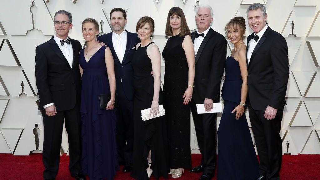 Llegan a la alfombra roja de los Oscar los nominados a mejores efectos especiales por 'Solo: una historia de Star Wars'