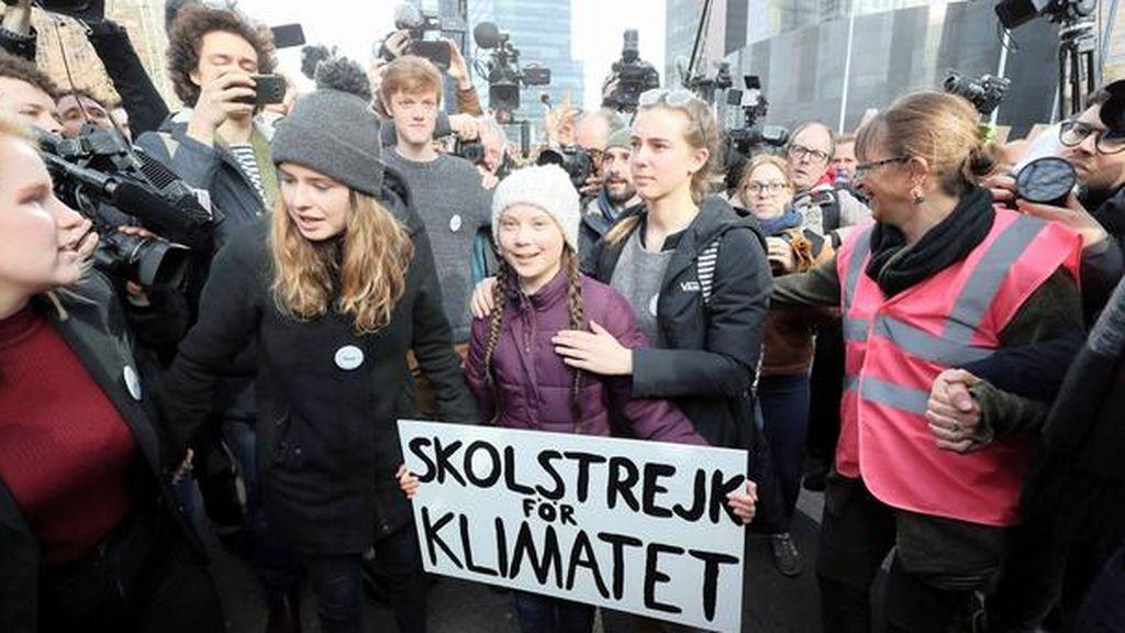La oleada de protestas juveniles por el clima llega a España