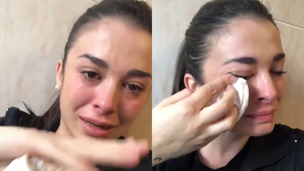 """Ruth Basauri confirma llorando su ruptura con Ricky: """"He estado engañada un año"""""""