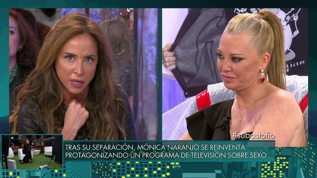 María Patiño se une a Belén Esteban y le da un tremendo zasca a Matamoros