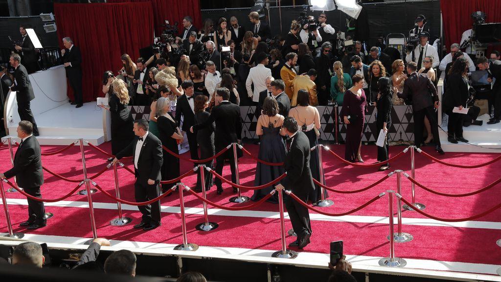 Los invitados comienzan a llegar a la alfombra roja de los Premios Oscars 2019