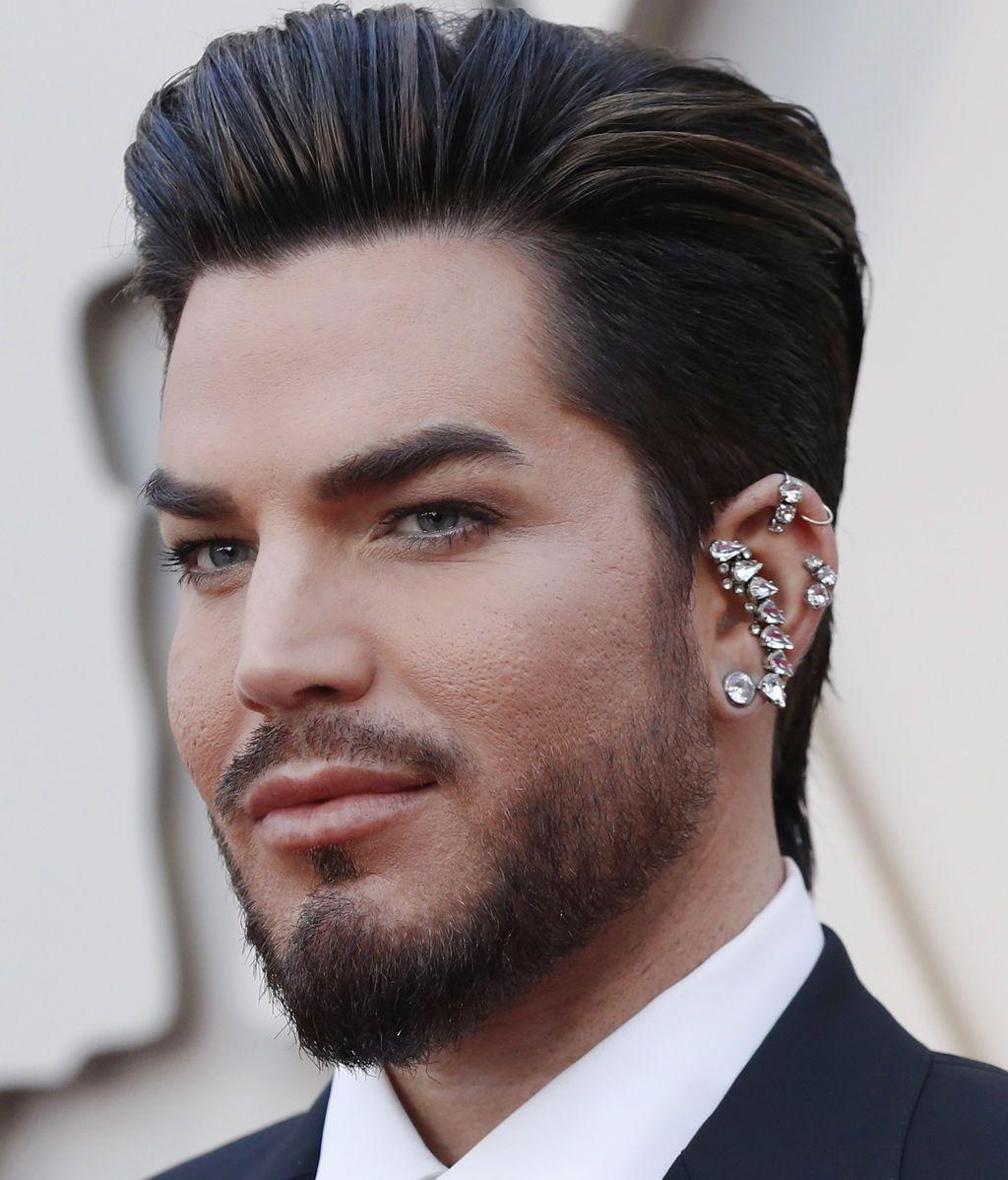 Llega a los Premios Oscars 2019 el cantante Adam Lambert