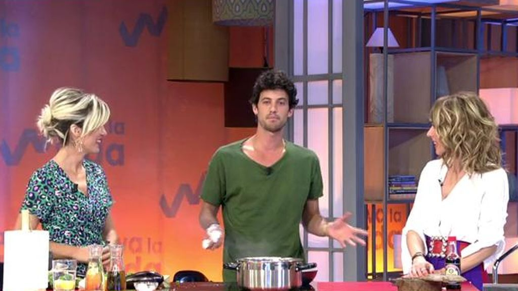 """El lado más romántico de nuestro chef Jorge Brazález: """"Miri es el amor de mi vida"""""""