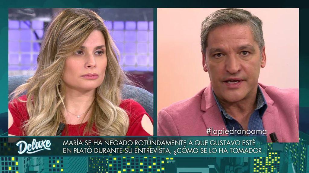 """María Lapiedra, muy dura con Gustavo: """"Te tendrías que avergonzar de poner tantos cuernos"""""""