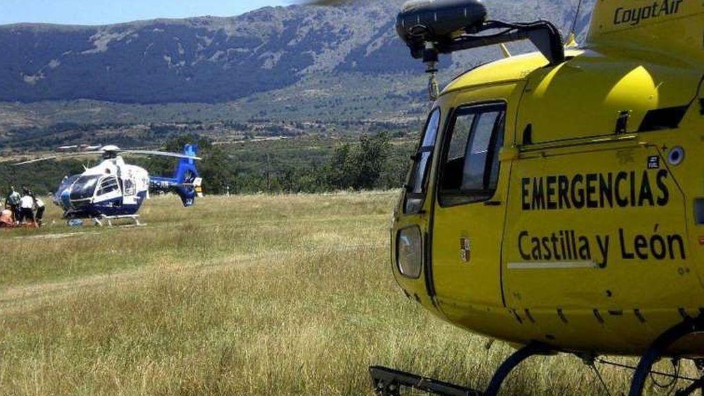 Mueren dos ocupantes de una avioneta tras estrellarse en el municipio segoviano de Corral de Ayllón