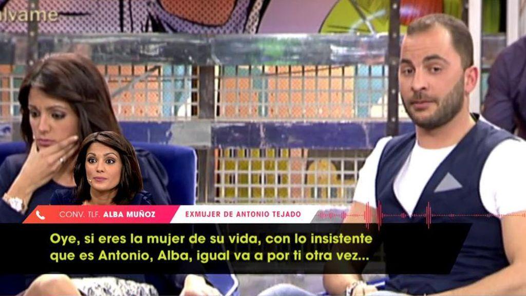 Alba Muñoz opina de la relación entre Antonio Tejado y María Jesús