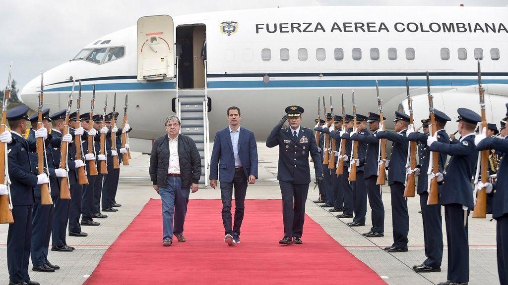 Guaidó exigirá el uso de la fuerza contra la dictadura de Nicolás Maduro en la Cumbre del Grupo de Lima