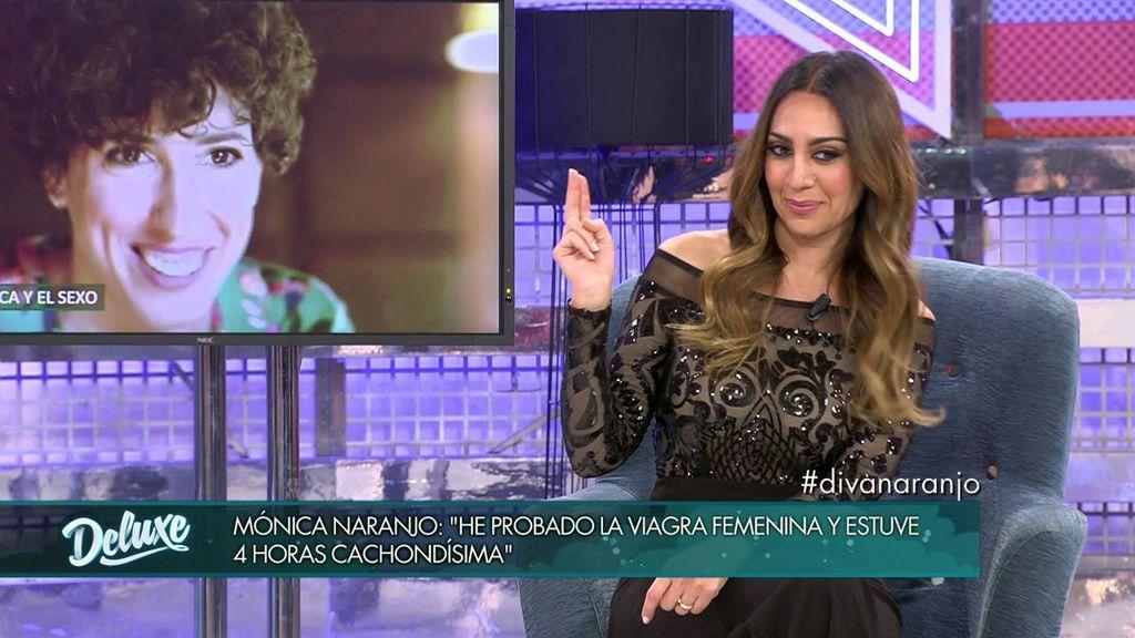 Mónica Naranjo tomó viagra femenina
