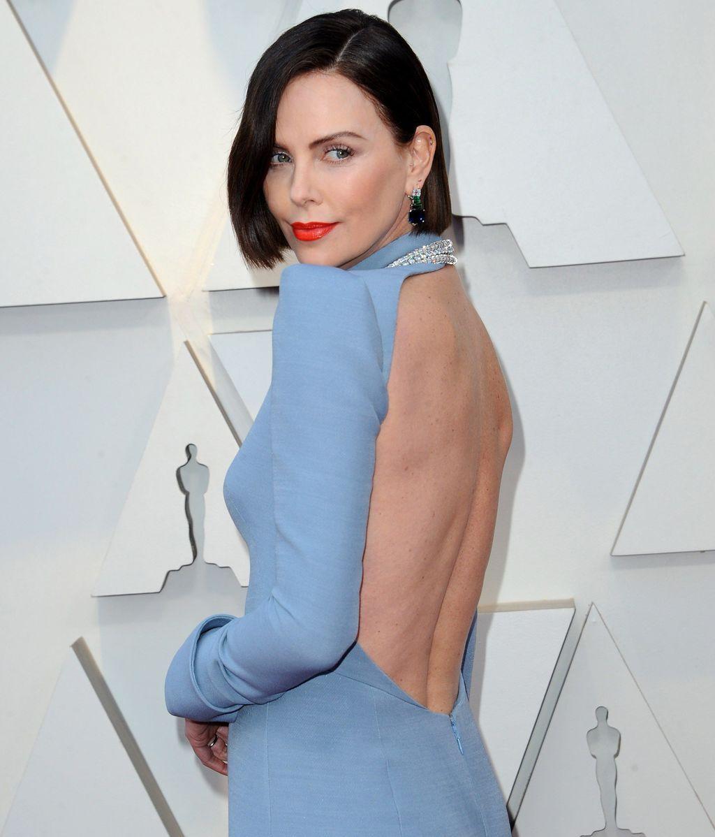 Detalle de la espalda del vestido