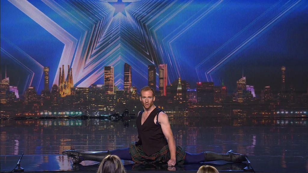 Daniel Sullivan trae el show más completo: danza irlandesa, acrobacias en aro y mucho humor