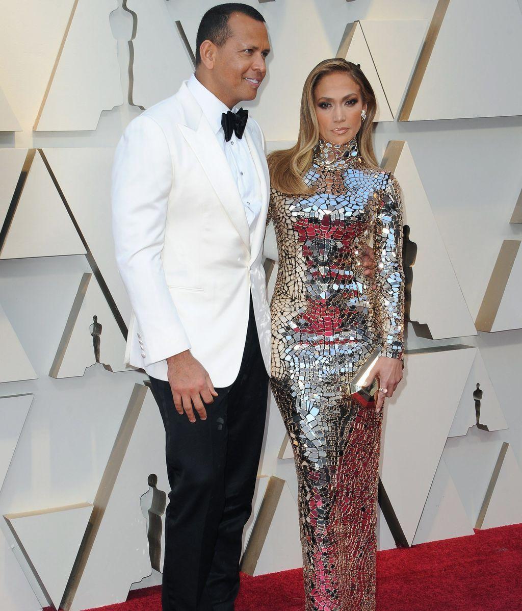 Jennifer Lopez y Alex Rodriguez eligieron a Tom Ford como diseñador