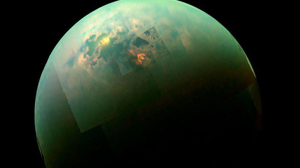"""Una cantidad de metano localizada en Titán alerta de una posible """"existencia alienígena"""""""