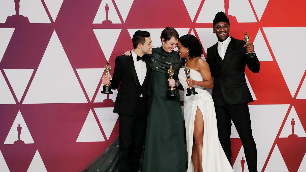 La imagen de los ganadores