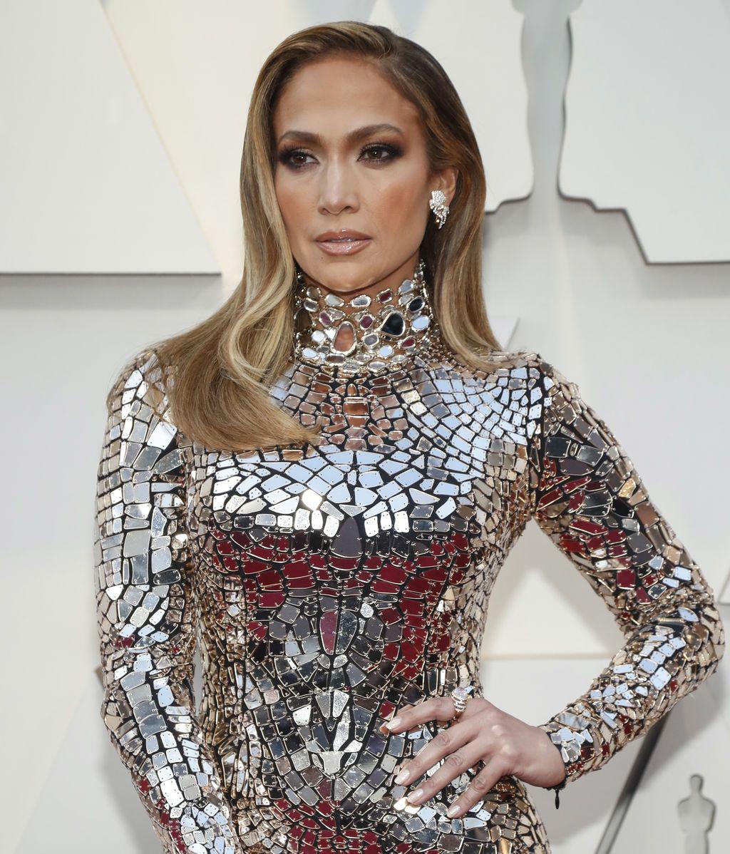 Jennifer Lopez acude a la gala de los Premios Oscars 2019