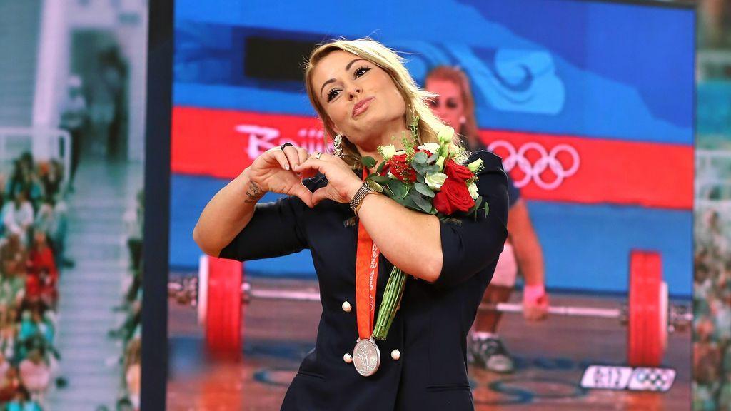 Lydia Valentín recibirá la medalla de oro de Londres tras la descalificación de sus rivales por dopaje