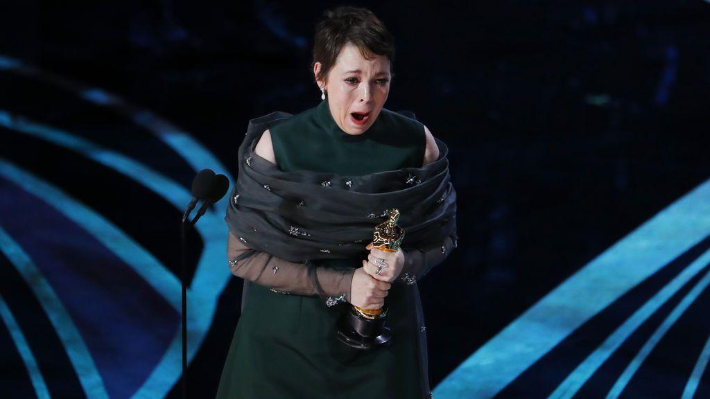 Olivia Colman, la sorpresa de la noche al llevarse el Oscar a la Mejor Actriz Protagonista