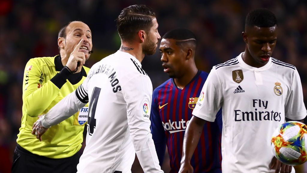 Mateu Lahoz será el VAR en el Clásico entre Madrid y Barça de Liga