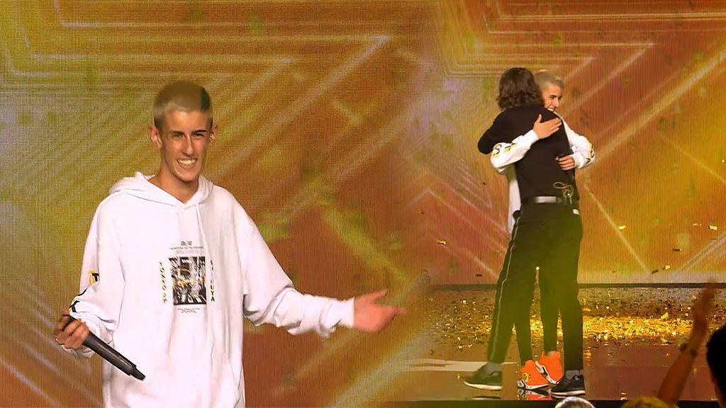 Del 'placa placa' del jurado al 'Pase de oro' de Santi Millán: El Cejas estará en las semis de 'Got Talent'