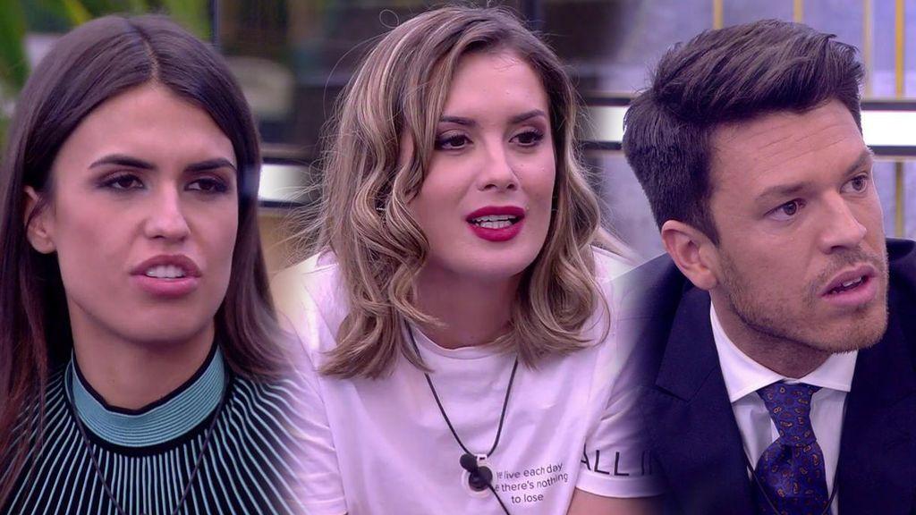 Sofía, Candela y Fede, finalistas de la repesca, dejan de piedra a sus ex en su vuelta a la casa