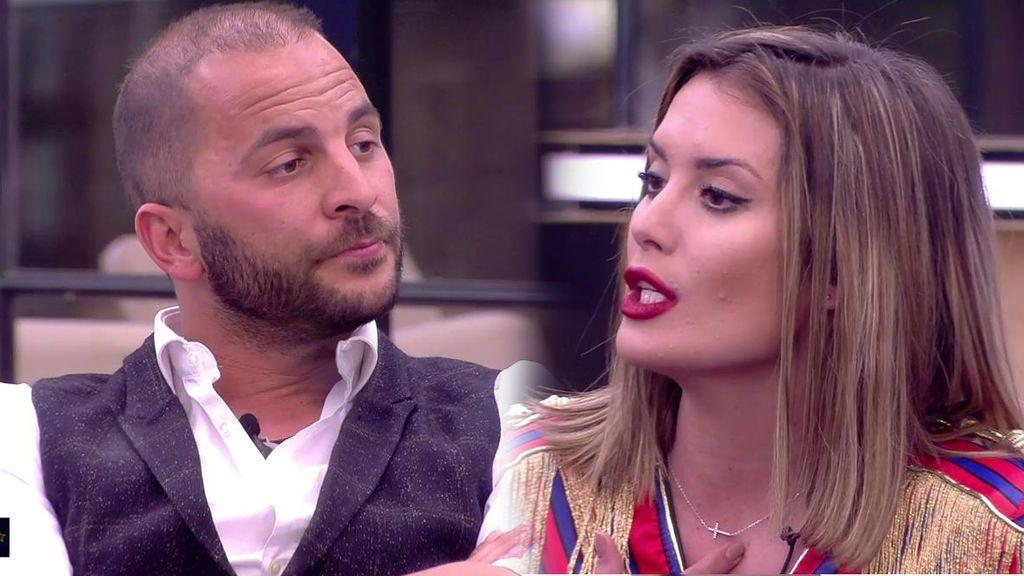 Tensión máxima: Candela le reprocha a Antonio toda la información de fuera sobre sus supuestos líos con otras mujeres