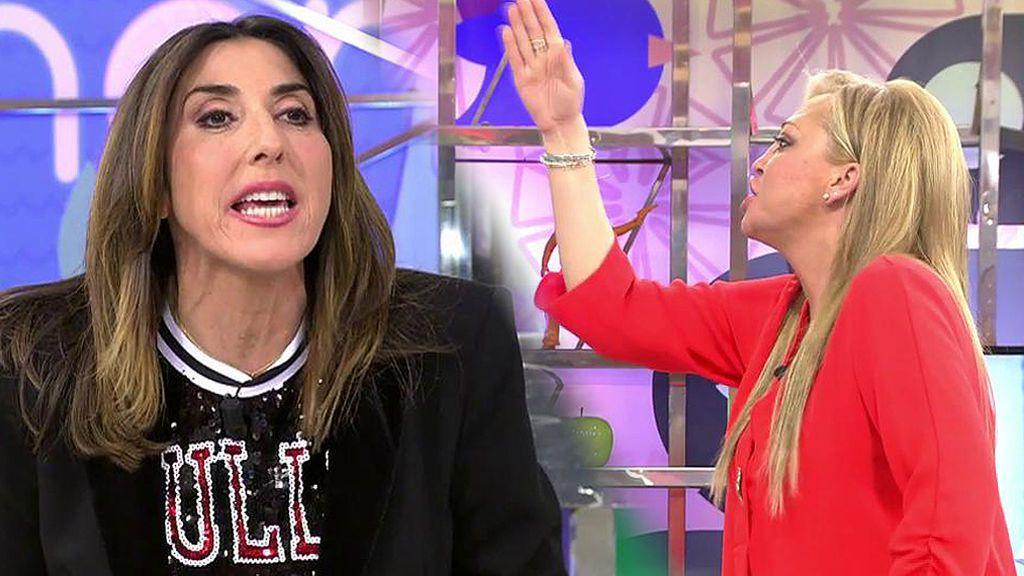 """Paz Padilla defiende a Gustavo y se enfrenta a sus compañeros: """"¡Mi opinión es igual o mejor que la vuestra!"""""""