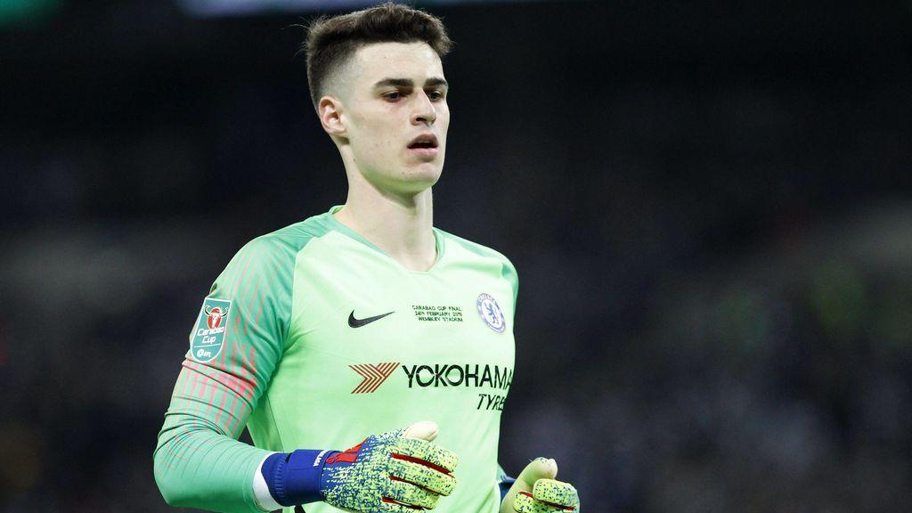 El Chelsea multa a Kepa con 225.000 euros, su sueldo de una semana