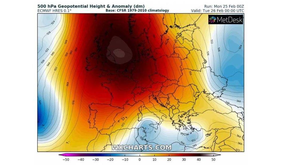 anticiclon europa