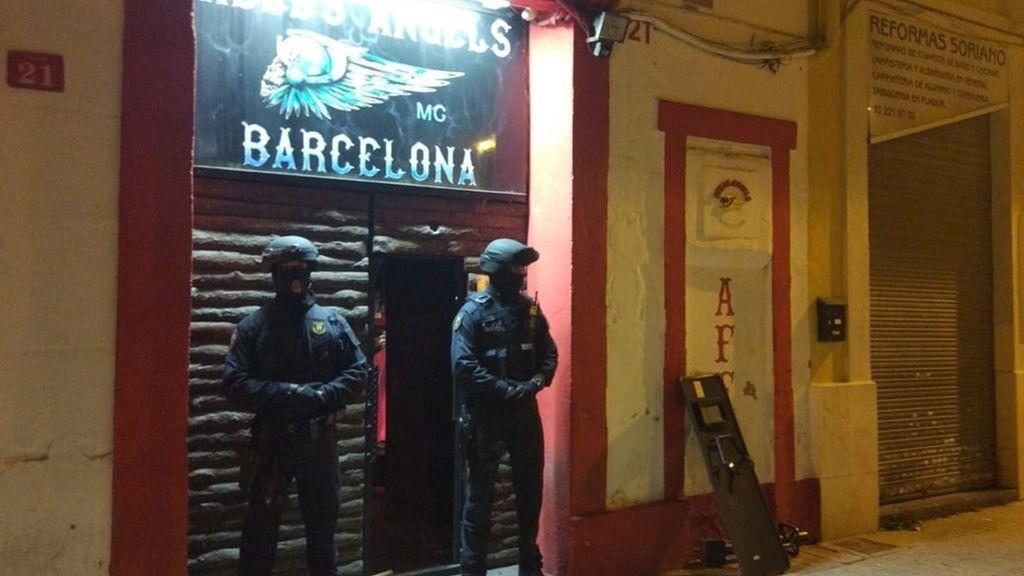 Golpe de los mossos a los Angeles del Infierno por tráfico de drogas