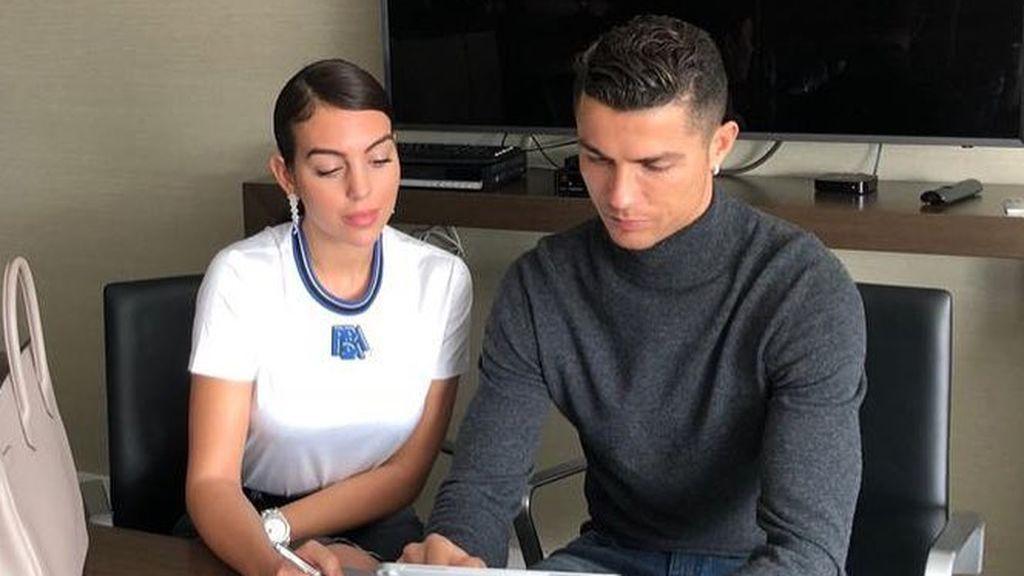 Georgina le dedica una romántica carta a Cristiano Ronaldo: El amor no es egoísta