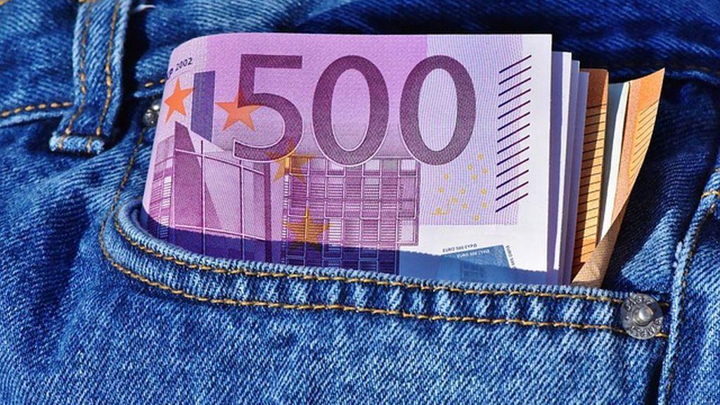 El número de billetes de 500 euros en España, los mismos que hace 16 años