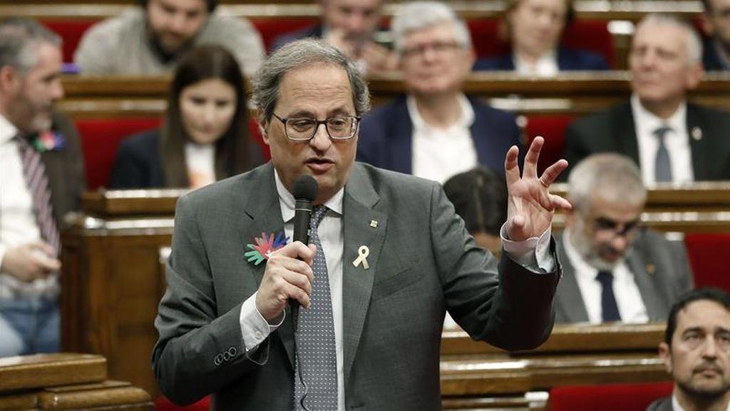 """Torra no quiere permanecer """"ni un día más en el Estado"""" y anuncia que el independentismo debe ganar"""