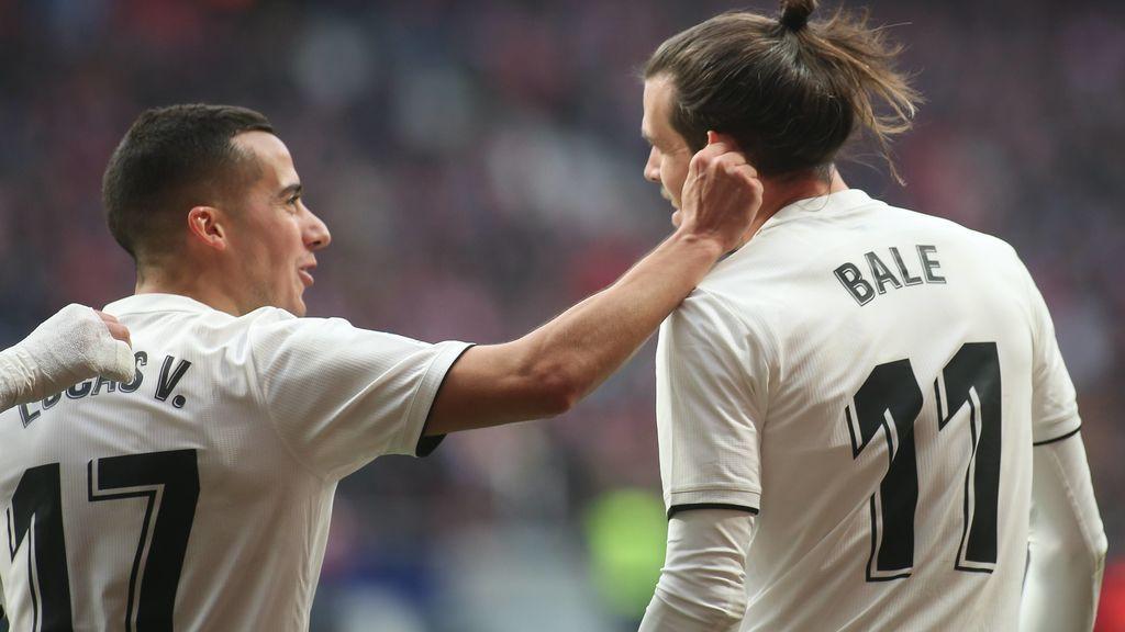 El mensaje de Bale pidiendo unidad dos horas antes del Clásico con una foto junto a Lucas Vázquez