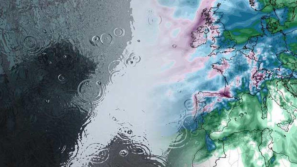 Por fin llegan las lluvias: para saber el dónde y el cuándo, mira los mapas