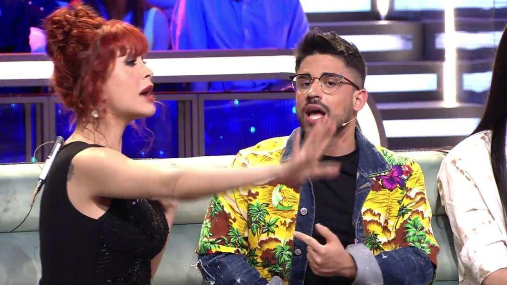 """Miguel Frigenti imita a Yurena y arremete contra ella: """"Eras un mueble, estabas todo el día maquillándote"""""""