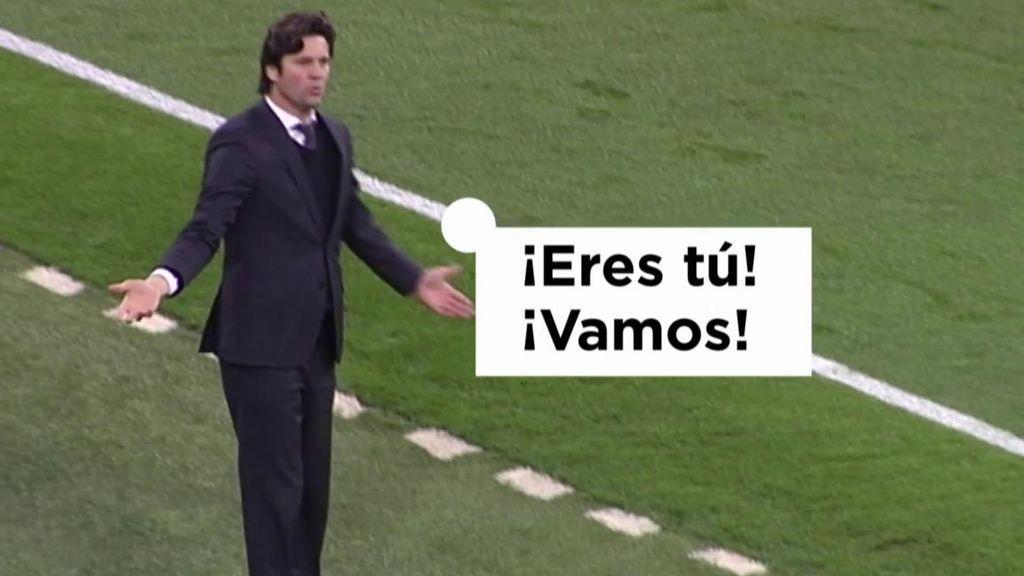 """Solari, a Bale para que saliera en el Clásico: """"¡Eres tú! ¡Vamos!"""""""