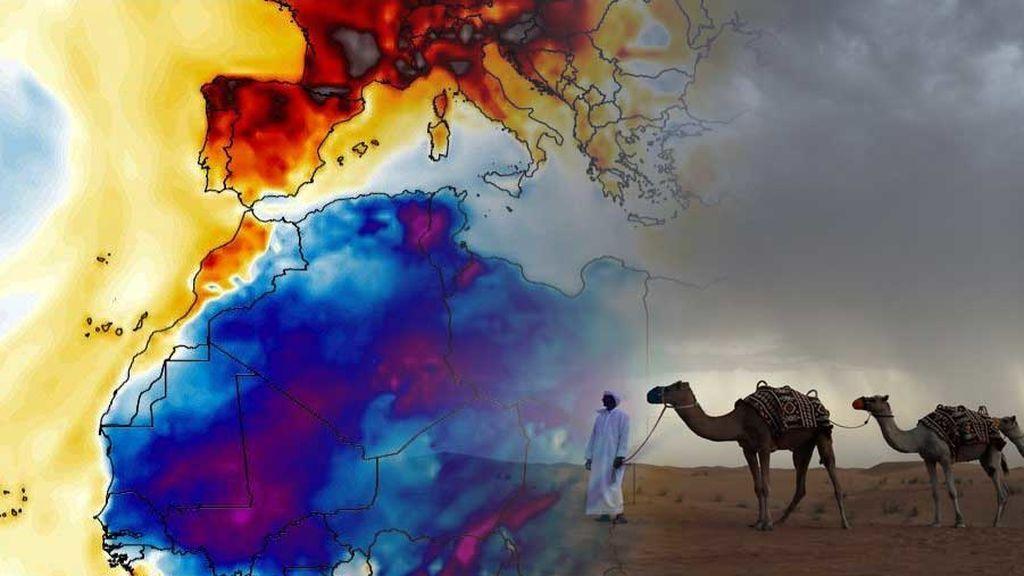 Dipolo térmico: más calor en Europa que en África y anomalías muy locas